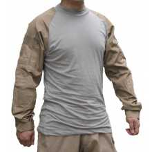 Рубашка Emerson Tactical Combat Shirt под бронежилет coyote